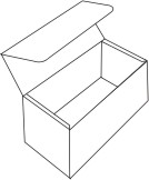 Foulding Four Line Box